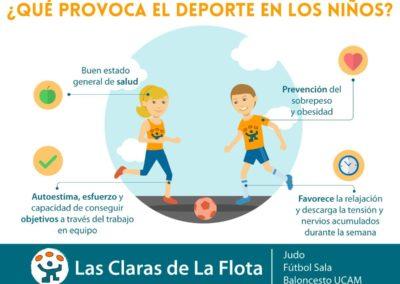 ¿Qué provoca el deporte en los niños?