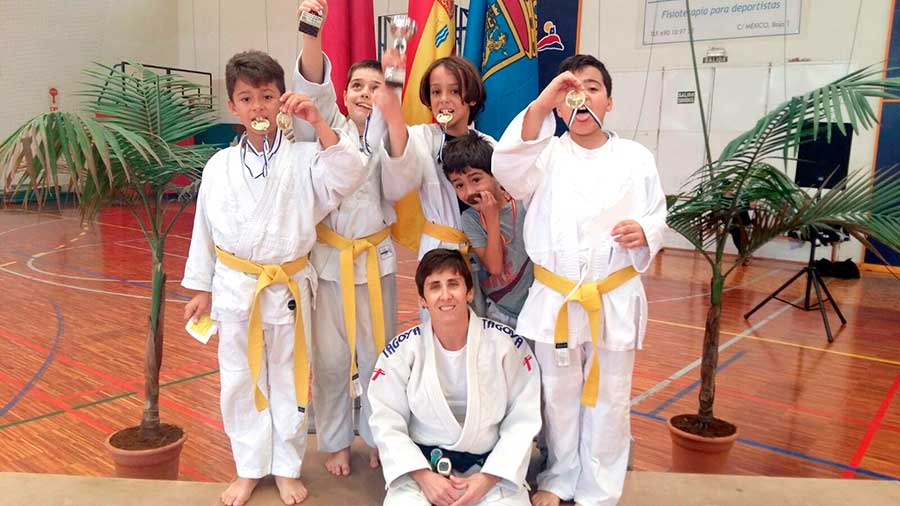 ¡Enhorabuena a nuestros judocas campeones!