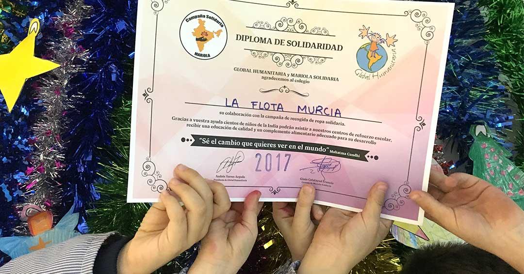 Diploma de Solidaridad