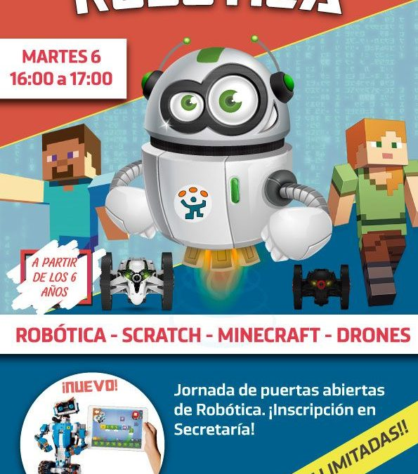 ¡Robotízate el próximo martes!