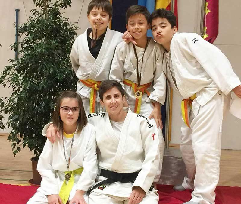 ¡Enhorabuena judocas!