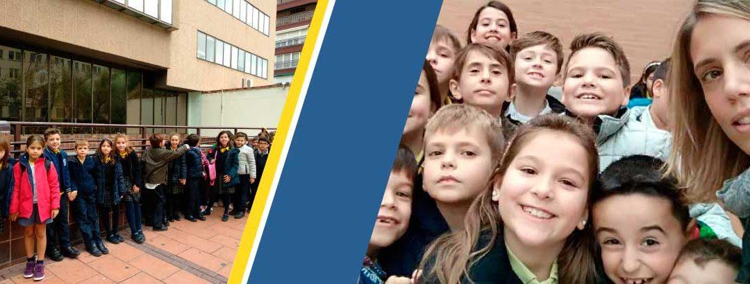 Visita con los alumnos al Museo de Santa Clara