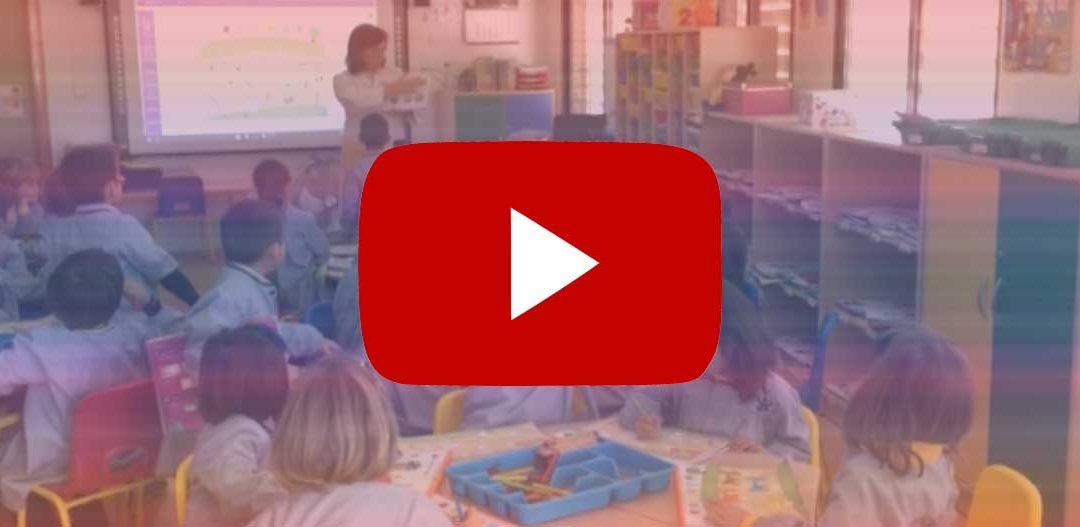 Nos colamos en las clases de infantil. ¿Te vienes? – ¡Vídeo!